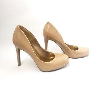 Jessica Simpson round toe pumps